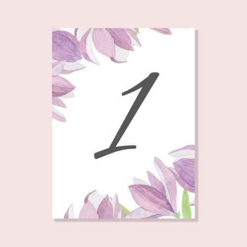 Pastatomas magnolijų stalo numeris
